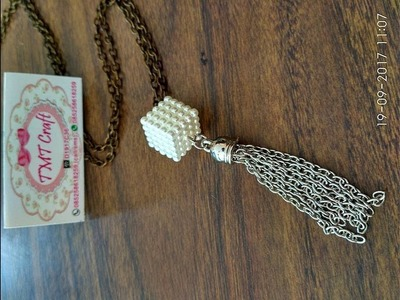 DIY || TUTORIAL THASSEL CHAIN NECKLACE