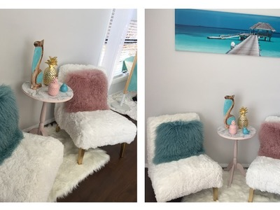 DIY Z GALLERIE INSPIRED FUR CHAIRS
