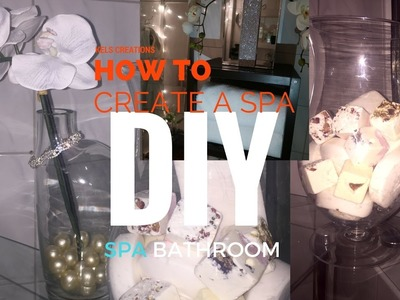 DIYs~HOW TO CREATE ZEN.SPA Inspired BATHROOM