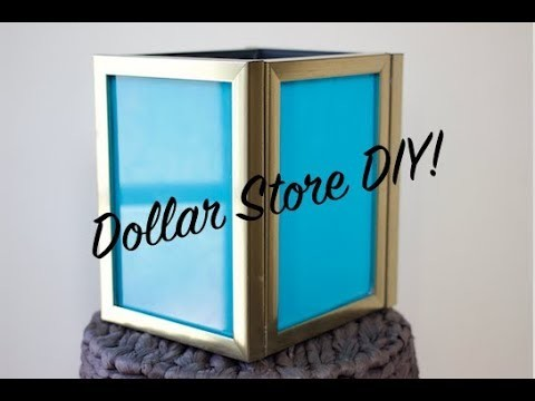 Dollar Store DIY Ep. 33 - How To DIY Picture Frame Lantern