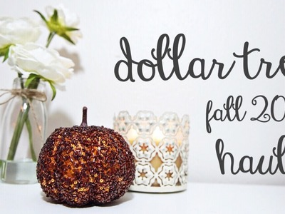 DOLLAR TREE HAUL! ????????  I hit the fall decor jackpot! july 27 2017