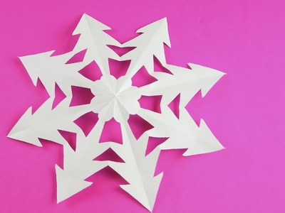 Don't watch this video. How to make paper Snowflake ❄ №8
