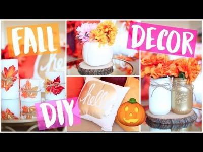 Easy & Cheap DIY Fall Room Decor Ideas 2017