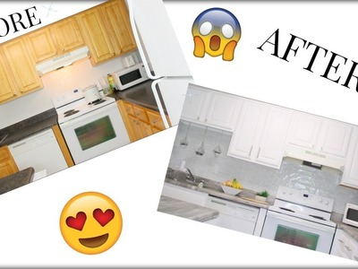 EXTREME KITCHEN MAKEOVER!! FOR A SMALL APARTMENT!!