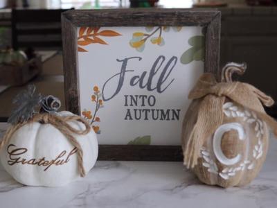 Fall Home Decor 2017