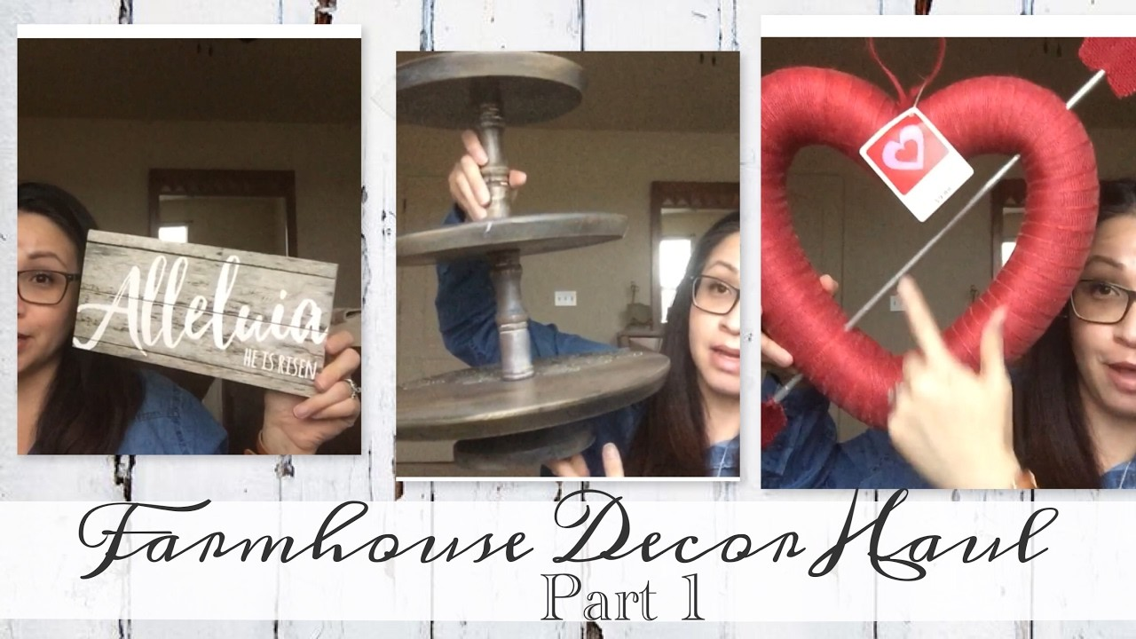 Farmhouse Decor Haul | Part 1!!