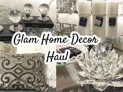 Glam Home Decor Haul | HomeGoods Haul + GIVEAWAY!
