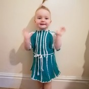 Hand made 3 Piece costume and dresses ,age 2-4 years