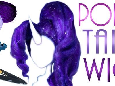 High Ponytail Doll Wig [ Rarity MLP ]