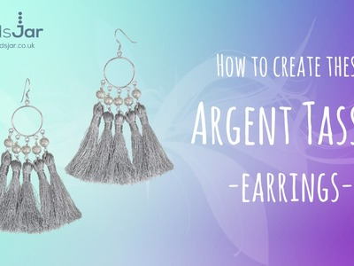 How to create these Argent Tassel earrings