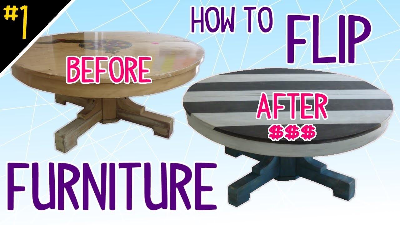 How to Flip Furniture (Diy Dork Style) - Pt 1 of 4