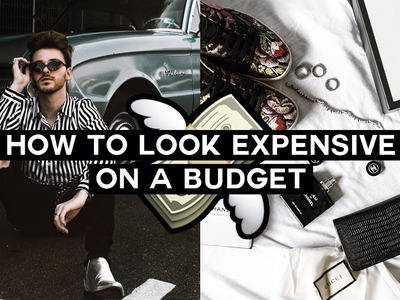 How to Look EXPENSIVE on a BUDGET - Shopping HACKS + Style Tips. Imdrewscott