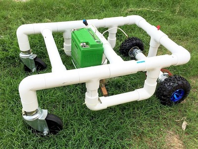 How to Make a Remote Control Lawn Mower at Home