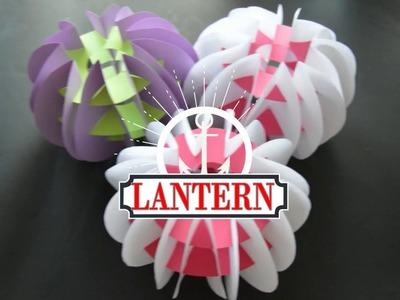 How to make Lantern( Aakash kandil) at home.Diwali decoration ideas.DIY craft