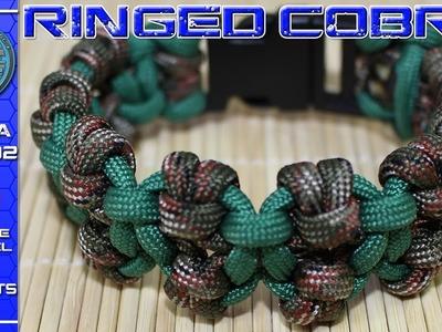 How To Make Paracord Bracelet Ringed Cobra