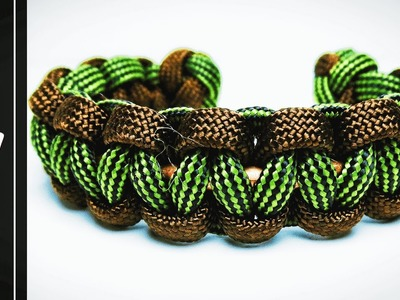 How to make the Cobra Copper Wire Paracord Bracelet Without Buckle [UWA Original]