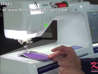 How to Use the Brother SA158 7 Hole Cording Foot