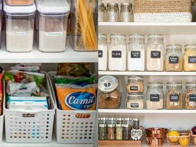 Ideas para organizar tu despensa I Pantry Organization