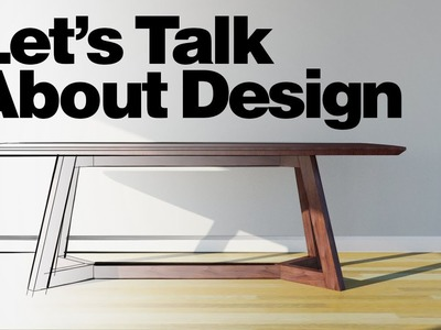 Let's Talk About Design - (a different) Chris' Dining Room Table
