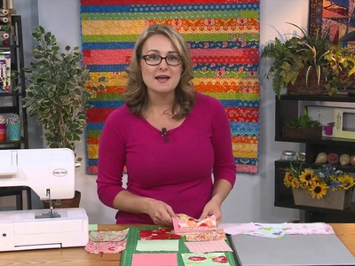 My First Quilt - Episode 7 - How to Make a Baby Quilt