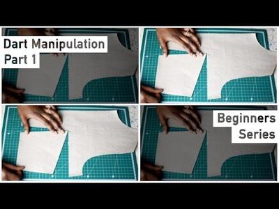 Pattern Drafting for Beginners - Dart Manipulation - Slash & Spread and Pivot Method • Elewa