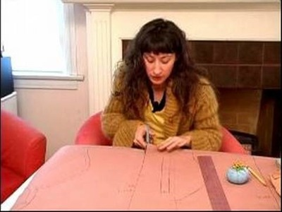 Pattern Making From a Shirt : How to Cut Out a Pattern