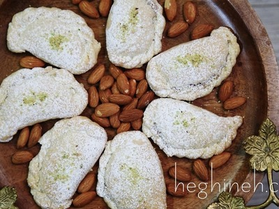 Բադամպուրի - Persian Cookies Ghotab Recipe - Heghineh Cooking Show