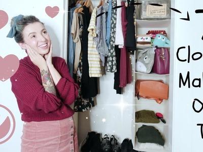 Seven Closet Makeover Organization Tips! Oak leaf & MaidMax