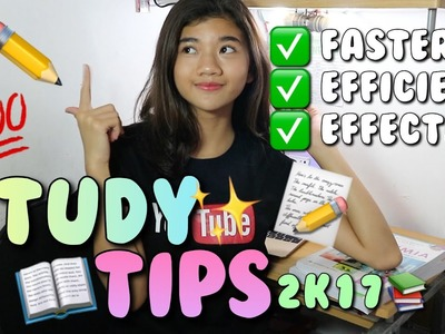 SICK OF STUDY? WATCH THIS!???? || STUDY TIPS 2K17???? (BAHASA)