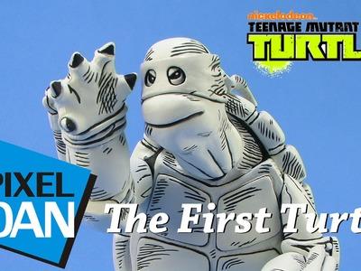 The First Turtle Teenage Mutant Ninja Turtles Mondo Figure Video Review