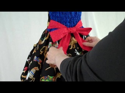 Tying the Perfect Sash Bow