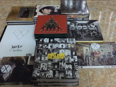 [UNBOXING.REVIEW] EXO Album Haul 160704: XOXO, EXODUS, OVERDOSE, LOVE ME RIGHT and More .