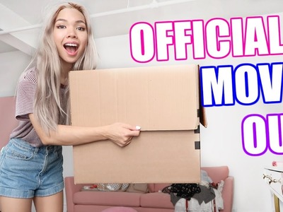WE OFFICIALLY MOVED OUT!! MOVING VLOG!
