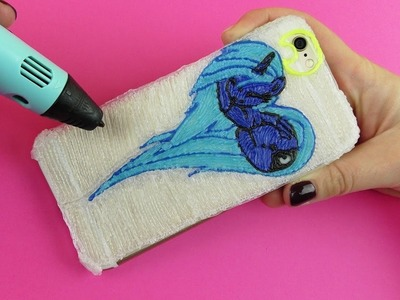 3D Pen Creations | How to make Princess Luna Case for iPhone | 3D Pen Art