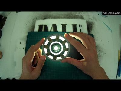 3D Printed Tony Stark ARC REACTOR. How to