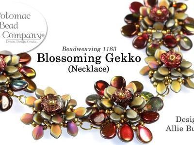 Blossoming Gekko Necklace (Tutorial)