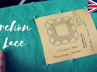 how to make bobbin lace holder