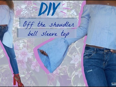 DIY Bell sleeve off the shoulder top | FASHION FIX EP 9 | Birabelle