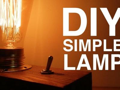 DIY | EDISON LAMP EASY TO MAKE