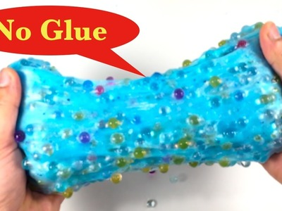 DIY Face Mask Slime Without Glue,Borax,Baking Soda or Hand Sanitizer!! Easy Orbeez Slime