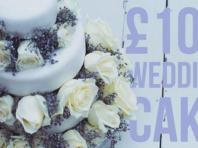 DIY Fleur's Wedding Cake for £100 with MUM DE FORCE!
