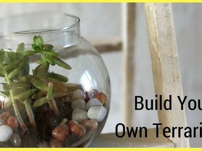 DIY| How to make a terrarium for Indian weather