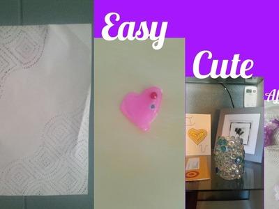DIY Room Decor: Easy, Cute, Affordable | TessyBoy