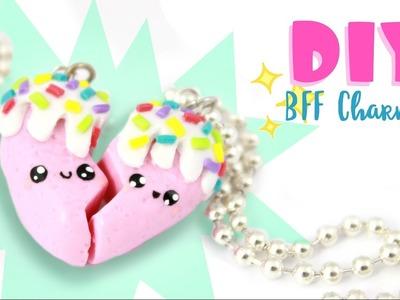 ♡ DIY Yummy Heart BFF CHARMS! ♡ | Kawaii Friday