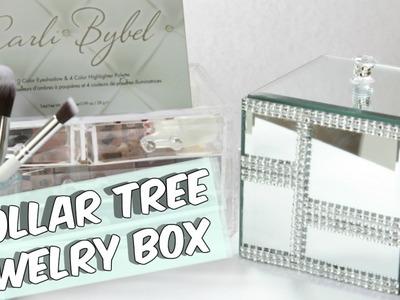 DOLLAR TREE MIRROR JEWELRY BOX TUTORIAL
