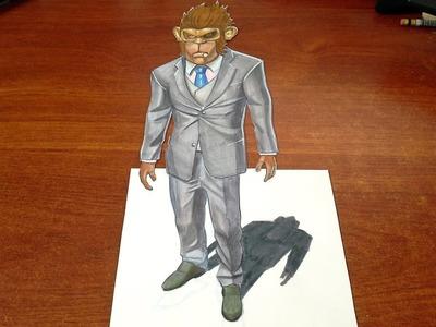 Drawing Franklin in 3D - GTAV