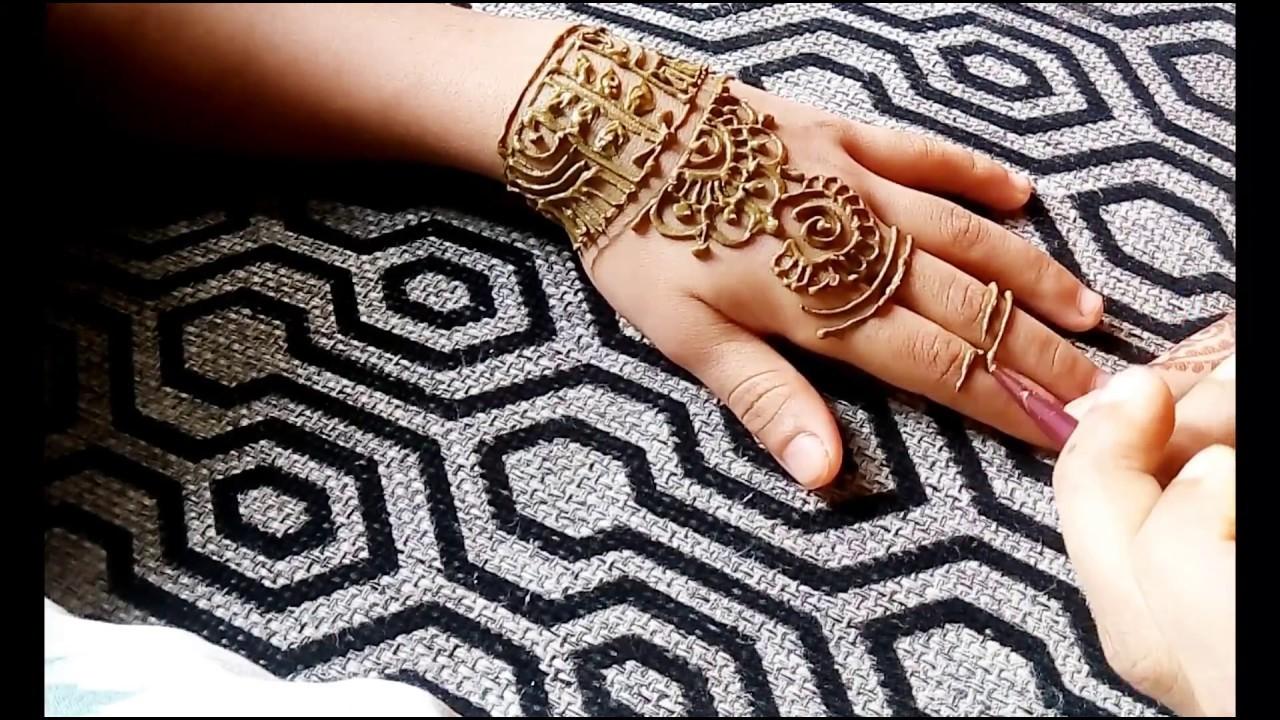Mehndi Designs Tutorial Pdf : Easiest mehndi tutorial henna art খুব সহজ মেহেদী ডিজাইন my