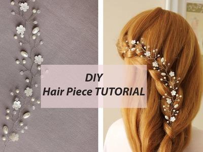 EASY Tutorial Hair Vine Tiara Headband Bridal Hair Accessory