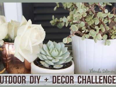 Front porch and outdoor diy