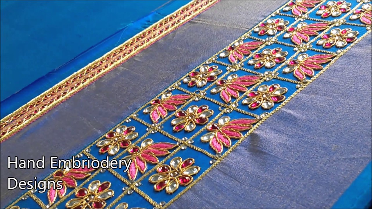 Hand embroidery designs for beginners